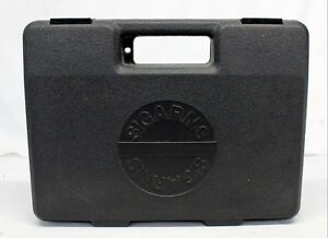 early SIG SAUER P220 factory hard case ~ GREY PLASTIC ~ Padded Fitted Insert