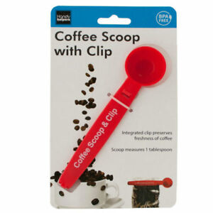 Set of 16 Bulk Lot Coffee Scoop With Bag Clip