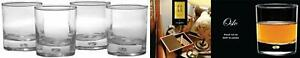Circleware Air Bubble Heavy Base Whiskey Glass Drinking Glasses, Set of Oslo