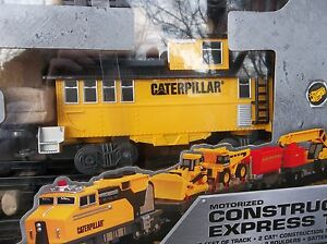 CONSTRUCTION EXPRESS TRAIN The Feel Of Real  (17' Feet of Track)