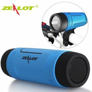 Zealot S1 Bluetooth Speaker Outdoor Bicycle Portable Subwoofer Bass Wireless Spe