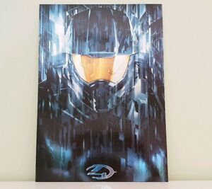 Halo 4 *NEW!* Limited Edition Lithograph *RARE!*