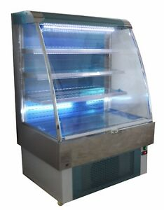 Refrigeration Display Case Open Air Grab and Go Refrigerated Showcase 40