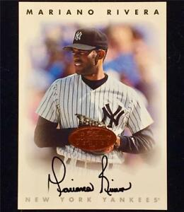 1996 Donruss Leaf Signature MARIANO RIVERA Yankees AUTOGRAPH Bronze Auto card SP