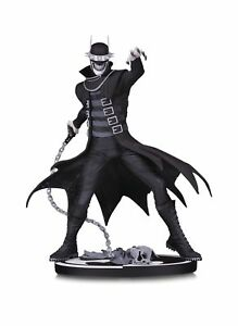 BATMAN BLACK & WHITE THE BATMAN WHO LAUGHS STATUE MIB *IN STOCK*