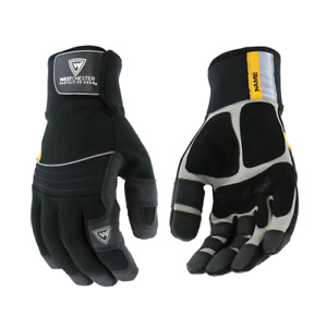 The Yeti® Insulated Gloves Waterproof Winter Insulated Work Gloves PVC Grip
