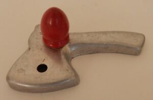 Red Wood Bullet Handle Kitchen Tool Cookie Cooky Cutter Ax Axe Hatchet    O