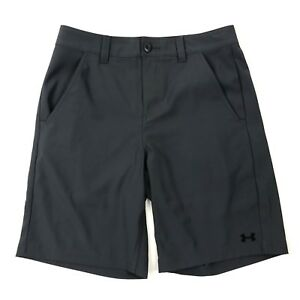 Under Armour Heat Gear Men's Solid Grey Loose Fit Quick Dry Stretch Shorts Sz 30