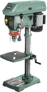 12 Bench Top Commercial Variable Speed Drill Press Green Hand Lever 14 Gauge
