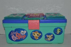 Littlest Pet Shop Tackle Box Pink Hook Storage Containers For LPS amp; Accessories