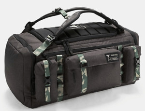 Under Armour Project Rock USDNA Range Duffle Bag Backpack Camo