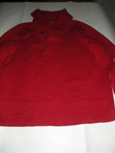 Ralph Lauren Rugby polo sweater red Men's size M