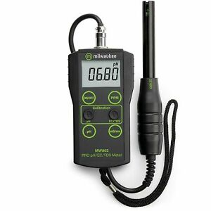 Milwaukee MW802 Smart 3 in 1 Portable Meter pH EC TDS $171.55