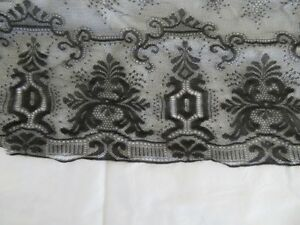 Jimi Hendrix 1967 Owned & Worn Black Lace Scarf With Letter & COA