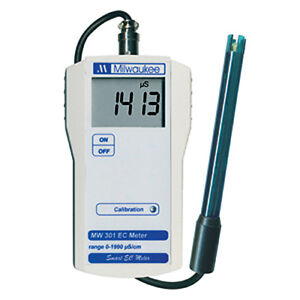 Milwaukee MW301 EC Conductivity Portable Meter Tester $94.83