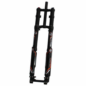 Sale DNM Front Fork USD-8S Triple Crown Downhill Fork 203mm 20mm Axle Dual Brake