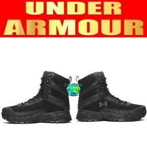 UNDER ARMOUR MEN'S SIZE 12 WIDE VALSETZ 2.0 POLICE MILT TACTICAL BOOTS 1296759