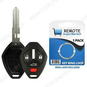Replacement for 2007 2012 Mitsubishi Eclipse Galant Remote Key Shell Gut Case