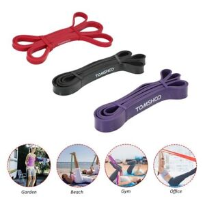 Yoga Loop Bands Resistance Fitness Equipment Gym Muscle Training Natural Latex