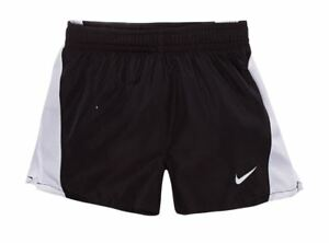 Nike Girl's Pull-on Shorts 5 6 6X Black & White Dri-Fit Stay Dry & Comfortable
