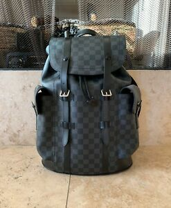 Louis Vuitton Christopher Backpack PM Damier Graphite
