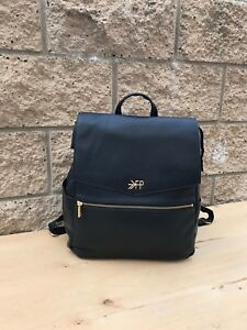 Pre owned Freshly Picked Convertible Black  Diaper Leather Backpack