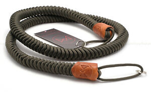 MONARCH BOA 'OD' OLIVE PARACORD (with BROWN LEATHER) 45