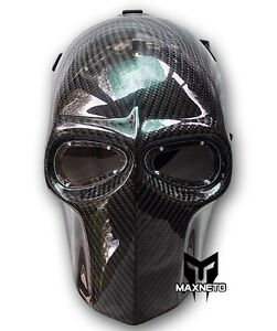 MAXNETO MASK ARMY OF TWO PAINTBALL AIRSOFT HALLOWEEN HELMET COSPLAY CARBON FIBER