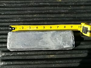 10lb Range Lead Ingot from Bullets for Casting Molding Jigs Sinkers Weights