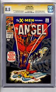 X-Men #44 CGC 8.5(SS)Stan Lee WP '1st Silver Age..App...RED RAVEN! Heck Cover!