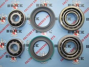 1957 1960 Buick Front Inner Outer Wheel Bearings with Seals Replacement Kit $117.50