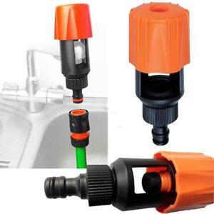 Faucet Tap Hose Kitchen Water Pipe Connector ADAPTER Quick Indoor Garden Joiner
