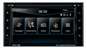 ESX VN630W Universal Double Din i30 Head Unit with Igo Navigations-Software