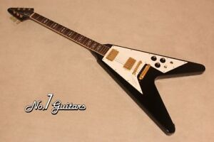 Gibson Jimi Hendrix Flying V Hall of Fame Edition 1991 With Hard Case