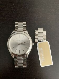 michael kors watch women silver