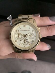 michael kors watch women gold