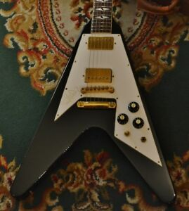 Gibson Jimi Hendrix Flying V HALL OF FAME EDITION 1992 USED With Hard Case