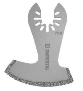 Imperial Blades OneFit 3 in. Dia. Diamond Grit Boot Oscillating Saw Blade 1 pk