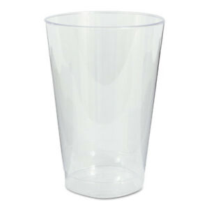 Plastic Tumblers Cold Drink Clear 12 oz. 500Case