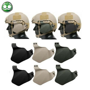 Tactical  Protection Side Cover for FAST Helmet Rail Airsoft Military Combat Ear