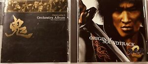 Onimusha 2 Orchestra and Soundtrack Music CD Bundle