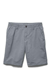 NEW Under Armour Match Play Golf Shorts Men's size 36 GRAY   $64.99