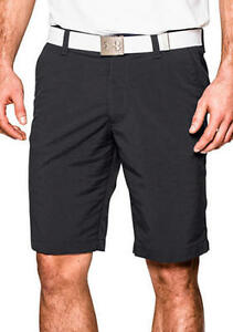 NEW Under Armour Match Play Golf Shorts  Men's size 36    BLACK   $64.99