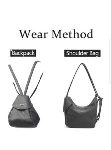 New! Fashion Backpack Purse Small Shoulder Bag for Women Purse
