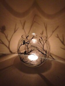 Personalized 10 Special Wedding Light Glass Candle Holder Shape Color