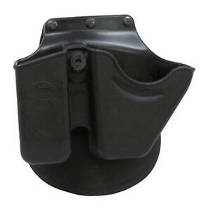 Fobus Handcuff/Mag Combo Pouch For Glock/H&K 9/40 Double Stack Mags-CU9GRP