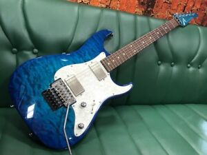 TOM ANDERSON Drop Top Classic Bora Bora to Trans Blue Burst With Hard Case