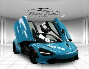 2018 720S 720S Performance Carbon 2 Lift Exhaust 112 Miles! 2018 McLaren 720S Fistral Blue with 112 Miles available now!