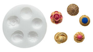Silicone Mould - Buttons - Fantasy