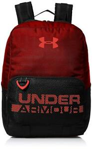 Under Armour UA Boys' Select Multifunctional OSFA Backpack BlackRedNeon Coral